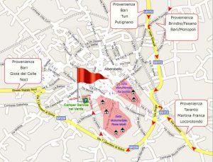 Alberobello Map